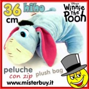 PELOUCHE 36 cm WINNIE the POOH HiHo doppio uso