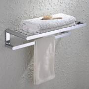 LightInTheBox HPB,Barre porte-serviette / Etagère de Salle de Bain Chrome Fixation Murale 602313cm(23.695.1 inch