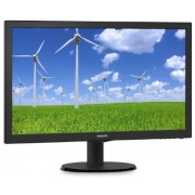 "Monitor TFT-LCD Philips 21.5"" 223S5LSB/00, Full HD (1920 x 1080), VGA, DVI, 5 ms (Negru)"