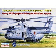 Mil Mi-6 Russian heavy multipurpose helicopter, late version, the Russian Air Force helikopter makett Eastern Express EE14507