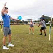 Franklin Sports Recreational Badminton & Volleyball 26 Piece Set 50600