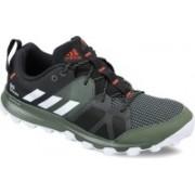 Adidas KANADIA 8 TR M Running Shoes(Black, White)