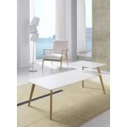 items-france LOUNGE - Table de salon en bois blanc
