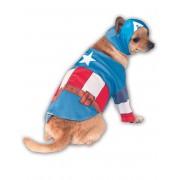 Vegaoo Hunddräkt Captain America Small (38)