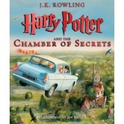 Harry Potter and the Chamber of Secrets: The Illustrated Edition (Harry Potter, Book 2) by J K Rowling