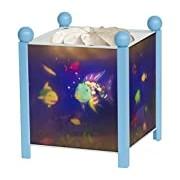 Trousselier Lanterne Magique Poisson Arc en Ciel - Bleu 12V