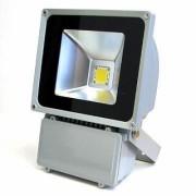 Proiector LED Metalic 80W Alb Rece 220V
