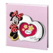 album portafoto con inserto in argento mickey mouse 30x30 cm