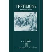 Testimony by Professor C. A. J. Coady