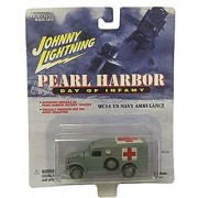 Johnny Lightning Pearl Harbor Day of Infamy WC54 US Navy Ambulance Diecast Car