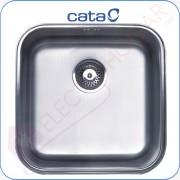 Fregadero CATA CB-40-40, Bajo encimera, mueble de 50cm
