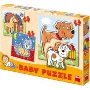 Set de puzzle-uri - Animale 3-5 piese