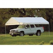 ShelterLogic MaxAP Outdoor Canopy Tent - 20ft. x 10ft., 6-Leg, Model 25757, White