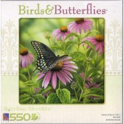 Birds & Butterflies 550 Piece Puzzle Monarch Butterfly