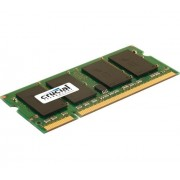 Crucial Simm Memoria RAM, SO DDRII, PC800, 2GB, CL6, Nero