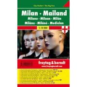 Plán města Milán 1:10 000()