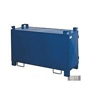 HUL-0059 640 literes festett fénycsőtároló, kombinált nyitású