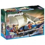 Playmobil Piratas - Barco de los soldados (5140)