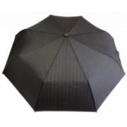 Deštník unisex vystřelovací / sestřelovací hnědý 9144-4 9144-4