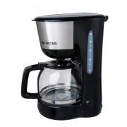 Кафемашина шварц Singer SFC 1812, 1000 W, 1.25 л, 8 - 10 чаши, Черна
