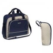 Чанта за количка Basic тъмносиня + термочанта - 1421/03 Babyono, 0180018