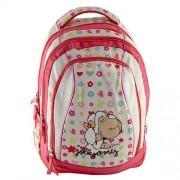 NICI 16568 Children's Backpack, White/ Pink