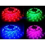 RGB LED pásik Vodeodolný, SMD5050 150LED, 12V