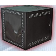 Gabinete de pared NORTH SYSTEM - Negro, Independiente, 50 kg, 22 kg