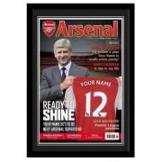 Arsenal FC Personalised Magazine Cover