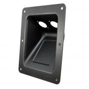 Adam Hall Hardware Adam Hall 87160 - Boxen Einbauschale für 2 XLR oder Speakon