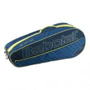 Babolat - Club Holder Geanta Tenis X6 Rachete (2017) bleumarin/albastru/galben