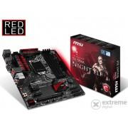 Placă de bază MSI B150M NIGHT ELF Intel B150 LGA1151 mATX