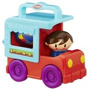 Playskool Fold 'N Roll Trucks Food Truck, Multi Color