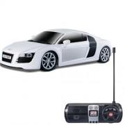 Maisto Tech Street White Audi R8 V10 1:24 Scale Radio Control