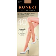 Kunert Super Control 40 - Semi-opaque light support knee highs