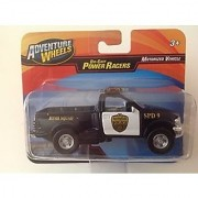 Adventure Wheels 1:46 Power Racers 1998 Ford F-Series Police Bomb Squad Black/White