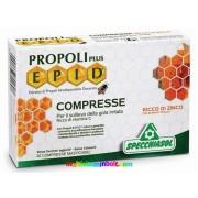 Propolisz szopogatós 20 db tabletta, Mézes-mentás ízesítéssel, cinkkel. Propoli Plus EPID(R) szabadalommal védett propolisz kivonattal - Specchiasol