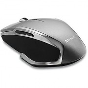 Verbatim Wireless Notebook 6-Button Deluxe Blue LED Mouse Graphite 98621