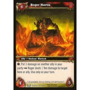 World of Warcraft Hunt for Illidan Single Card Roger Mortis #166 Common [Toy]