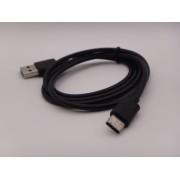 Cablu de incarcare telefon USB Tip C Negru calitate extra