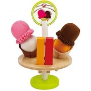 Hape - Playfully Delicious - Ice Cream Treats Wooden Play Food Set