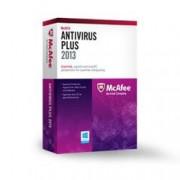 Intel BXMAV1YRFR McAfee Anti-Virus più licenza di abbonamento (1 anno, 1 PC, OEM, scheda di attivazione Win francese