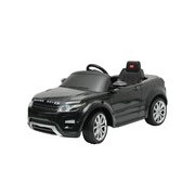 Land Rover Evoque Kids 6v Electric Ride On Toy Car W/ Parent Remote Control Black