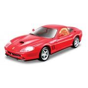 Maisto - 2043108 - Maquette De Voiture - Kit De Construction - Ferrari 550 Maranello - Rouge - Echelle 1/24