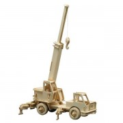Puzzle eco 3D din lemn Crane Pebaro
