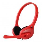 Edifier K550 Fone com Microfone, Headset, Vermelho