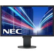 "Monitor NEC MultiSync LCD EA244WMi-BK, 24"", W-LED IPS, 1920x1200, 1000:1, 5ms, 350cd, audio, D-SUB, DVI, DP, HDMI, USB (1+4) BK, čierny"