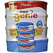 Playtex Diaper Genie Disposal System Refills 4 Count