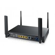 ZyXEL SBG3600 AnnexB Small Business Gateway, Multi-WAN: LTE (built-in, SIM card slot) + 2x DSL (VDSL2 bonding/ADSL) + 1x GbE WAN (RJ45/SFP), 4x GbE LAN, 1x USB 2.0, 802.11n 2x2 300Mbps, Wireless Contr