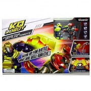KO Robot by Silverlit - Interactive Battling Robots - LED Display - Built-In Speaker With Electronic Sound Effects